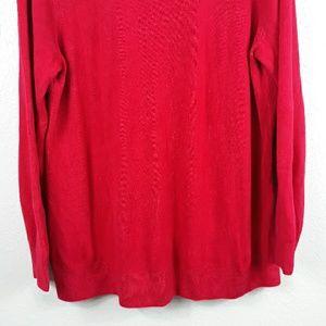 croft & barrow Sweaters - Croft&Barrow cowl neck long sleeve sweater size 2X